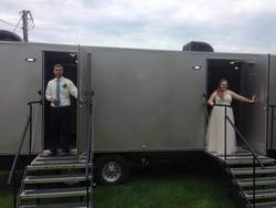 Luxury Mobile Restroom Trailers